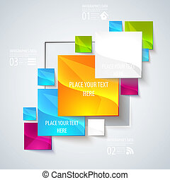 Abstract glossy geometric background. - Use visit cards,...