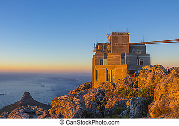 Cable Car Station At Top of Table Mountain 5 - Cable Car...