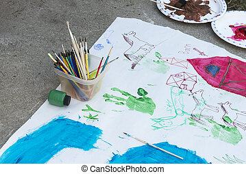 Arts, Crafts, Painting and Supplies - Outdoor Arts Crafts...