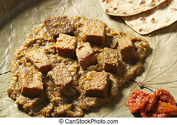 Dhokar Dalna a recipe made of bengal gram - Dhokar Dalna is...