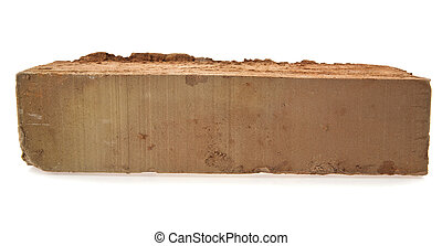 brick on a white background