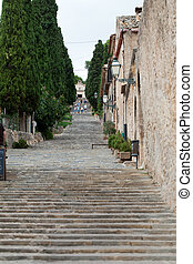 Calvary Steps at Pollensa, Mallorca, Spain
