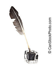 feather and ink-pot