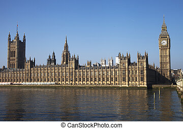 Houses of parliament, London. - Houses of parliament,...