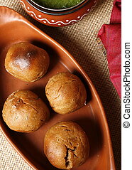 Saadi Baati from India - Saadi Baati - a plain wheat and...