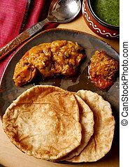 Khasta puri from India - Khasta puri - A crumbly fried bread...