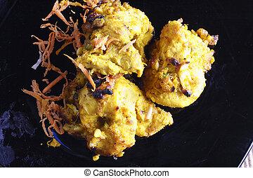 Lemon Garlic Tikka a grilled chicken dish. - Lemon Garlic...