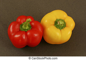 Red and Yellow Bell Pepper - Red & Yellow Bell Pepper - Bell...
