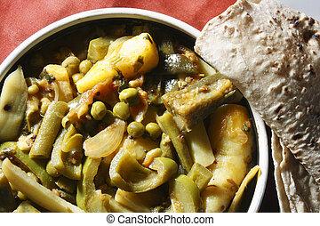 Kalagoora Pulusu - a vegetarian dish from Andhra Pradesh -...