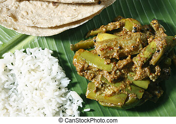 Eggplant Podi Curry/Powdered EggPlant Curry -...