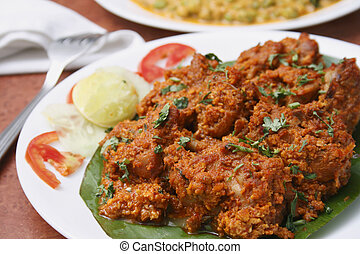 Chicken sukka A preparation from Mangalore - Chicken sukka -...