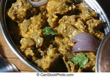 Pasinde a non veg dish from Hyderabad