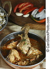Chettinad chicken from Andhra - Chettinad chiken is a spicy...