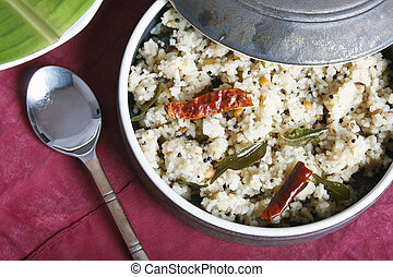 Rice upma is delicious food from Tamilnadu - Rice upma is...