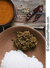 Idli Molagapodi from India - Idly Mlagapodi is a mixture of...