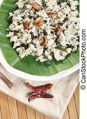 Ven pongal is common and popular breakfast in Tamilnadu -...