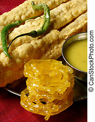 Fafda A snack from Western Indian state of Gujarat - Fafda...