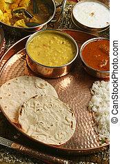 Bhakri a flatbread made of Jowar from Gujarat. - Bhakri is a...