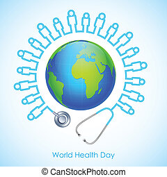 World Health Day - illustration of concept for World Health...