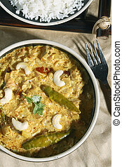 Malai Korma a gravy made from cream - Malai Korma - a gravy...