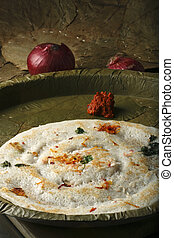 Uttapam from India - The batter to make Uttapam is made of...