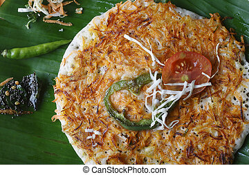 Carrot Dosa A South Indian pancake - Carrot Dosa is made...