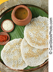 Set Dosa A pancake from South India