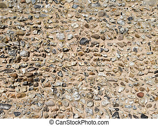 Flint wall. possible background use.