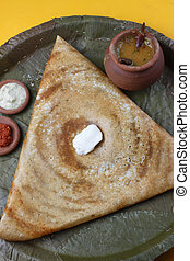 Butter Plain Dosa a South Indian pancake - The Dosa is a...