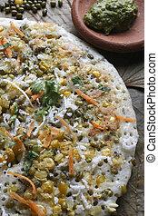 Mixed Dal Dosa A pancake from South India - Mixed dal dosa...