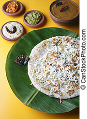 Paneer dosa A pancake made with cottage cheese -...