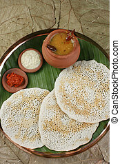 Set Dosa A pancake from South India - Set Dosa is a 'set' of...