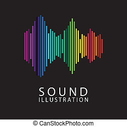 Music and sound design - music and sound design over black...