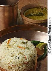 Ghee Bhatt - An Indian rice dish from Bengal - Ghee bhatt -...