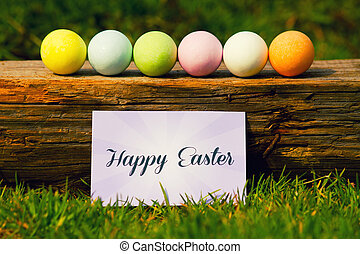 Happy Easter - Greeting Easter