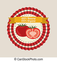 farm design over pink background vector illustration