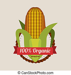 farm design over  gray  background vector illustration