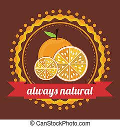 farm design over  brown  background vector illustration