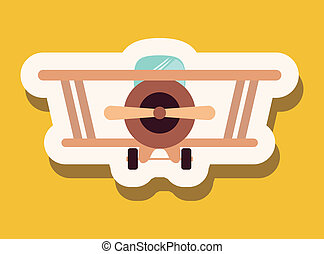baby design over yellow background vector illustration