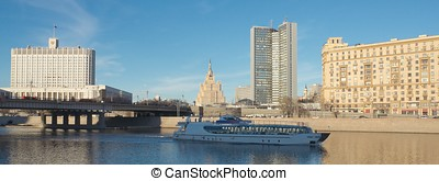 View on Moscow River