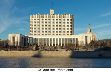 Russian Government House - The building of the Russian...