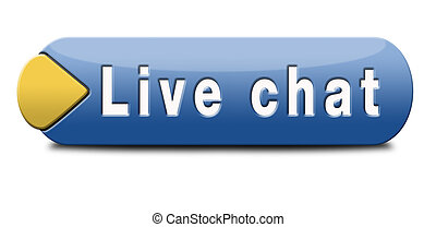 live chat icon Chatting online button