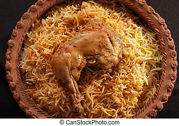 Hyderabadi Biryani - A Popular Chicken or Mutton based...