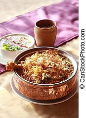 Hyderabadi Biryani - A Popular Chicken or Mutton based...
