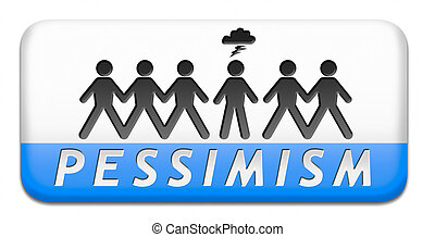 pessimism think negative thinking bad mood pessimist and...