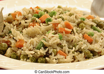 Vegetable Biryani - A popular Indian veg dish made with...