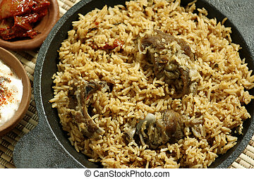 Mutton Gosht Biryani from India - Mutton Gosht Biryani -...