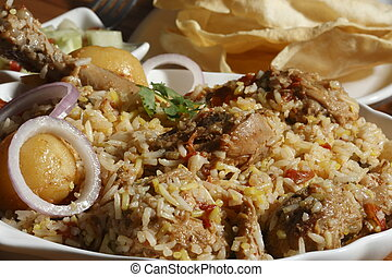 Sindhi Biryani from India - Sindhi biryani prepared from...