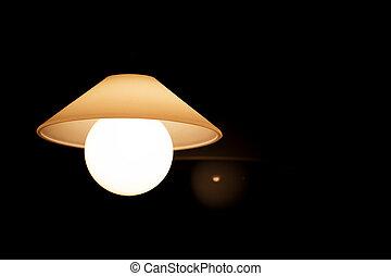 Chandelier in the Dark
