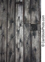 Barnboard - Barn board background, silvered by the weather